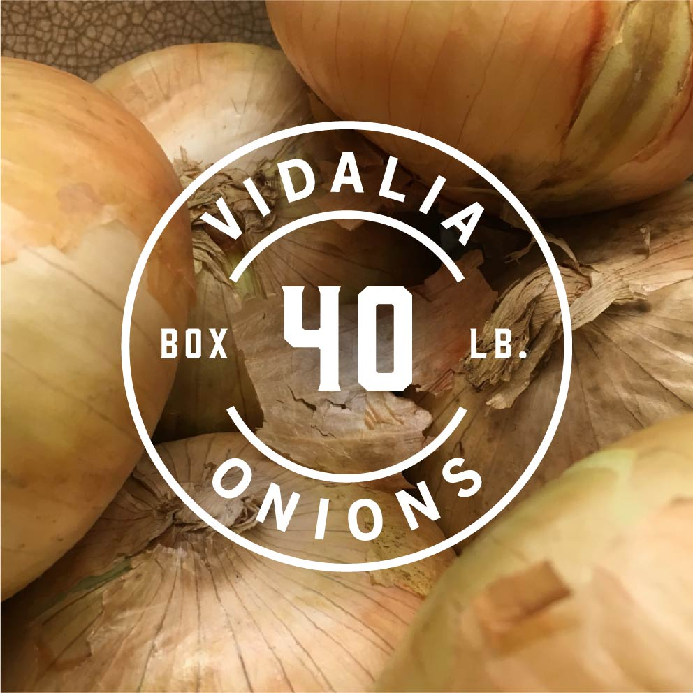 40 lb box of vidalia onions
