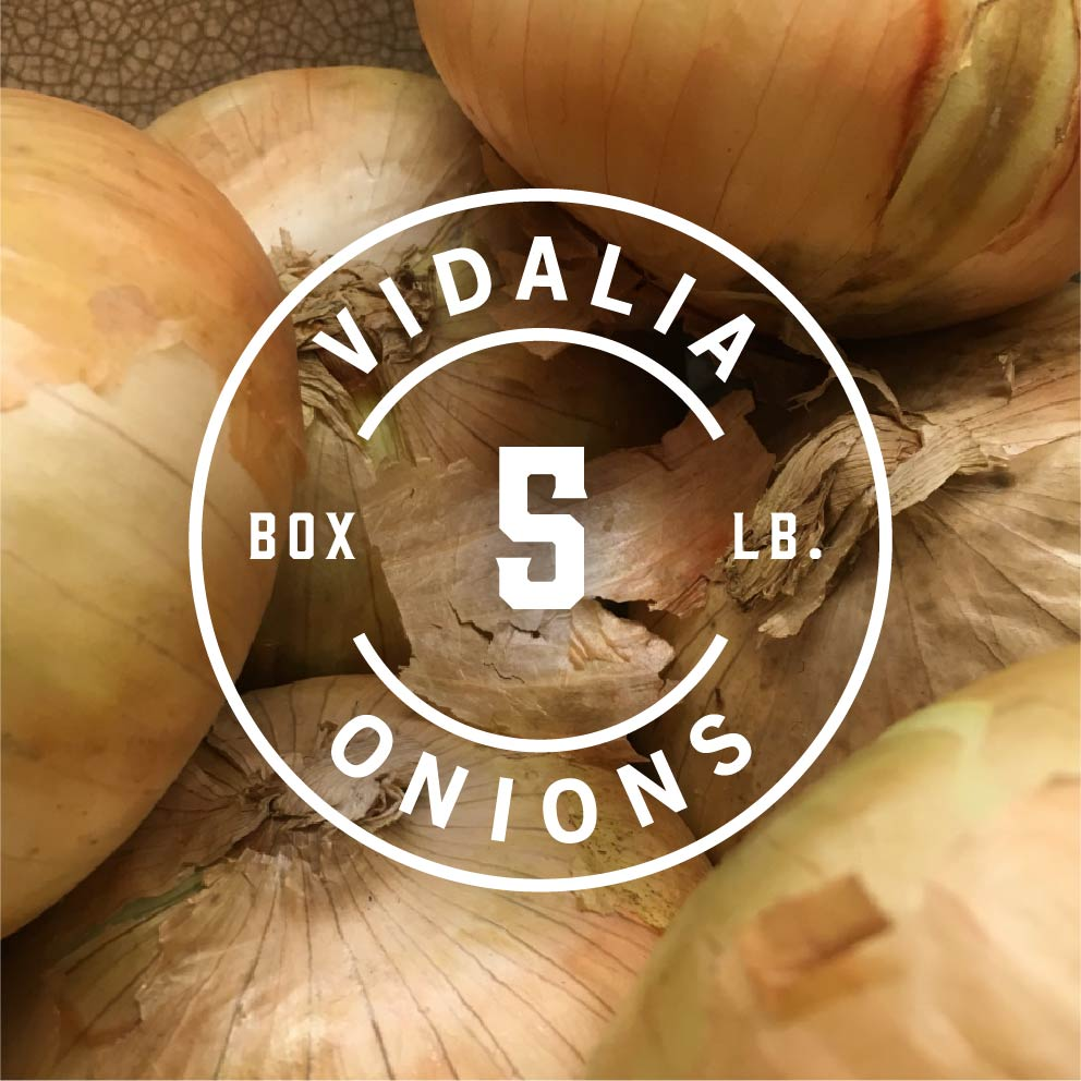5 lb box of vidalia onions