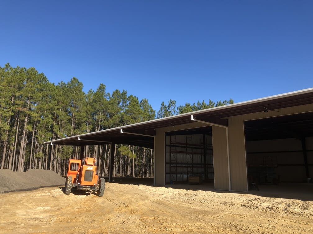 New A&M Farms Shed