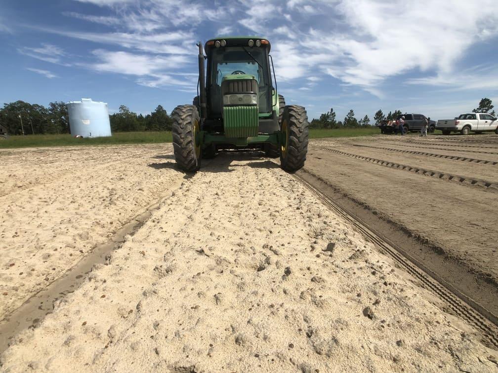 Tilling Soil for Vidalia Onion seeds